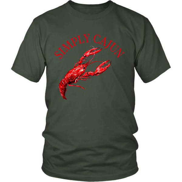 Simply Cajun Crawfish - Unisex Tee