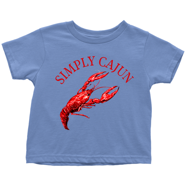 Simply Cajun Crawfish - Toddler Tee