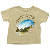 Simply Cajun Bass Fishing - Toddler Tee