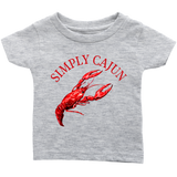 Simply Cajun Crawfish - Infant Tee