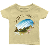 Simply Cajun Bass Fishing - Infant Tee