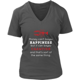 Money Can't BAYOU Happiness - Women's V-Neck