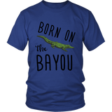 Born On The Bayou - Unisex Tee