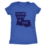 Cajun State of Mind - Next Level Women's Triblend Tee
