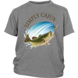 Simply Cajun Bass Fishing - Youth Tee