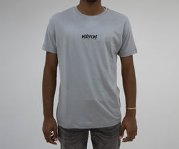 Haych Classic Embroidered Sport Grey T-shirt