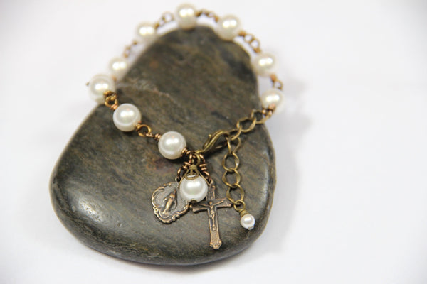 Infant or Child Rosary Bracelet