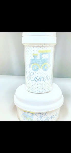 10 oz Embroidered Sippy Cup