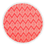 Coral Cove Sand Circle with Monogram