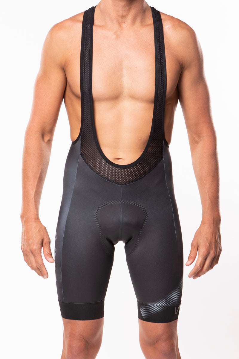 men's neptune cycling bib shorts - stonesteps *FINAL SALE