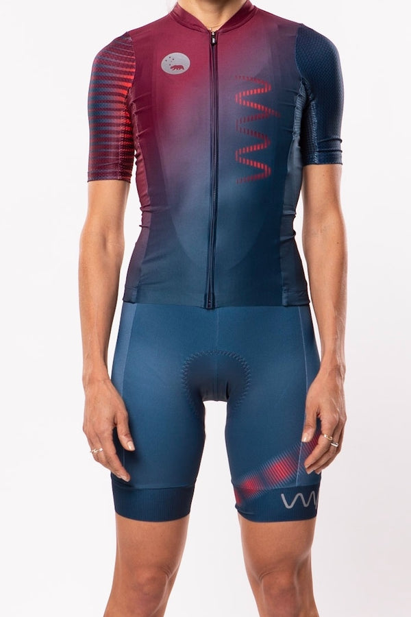 women's neptune cycling kit - grandview *FINAL SALE