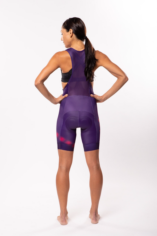 women's neptune cycling bib shorts - beacon *FINAL SALE