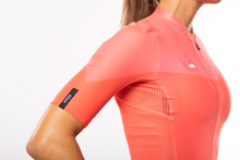 Load image into Gallery viewer, women's luceo premium cycling jersey - deux x corail