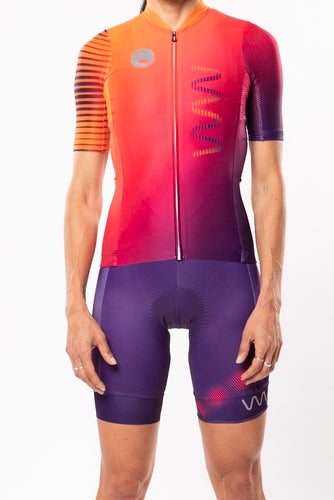 women's neptune cycling kit - beacon