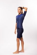Load image into Gallery viewer, women's luceo premium cycling jersey - deux x bleu