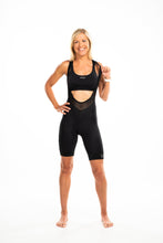 Load image into Gallery viewer, NEW women's LUXE bib shorts v2.0 - black