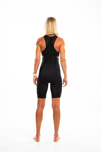 NEW women's LUXE bib shorts v2.0 - black