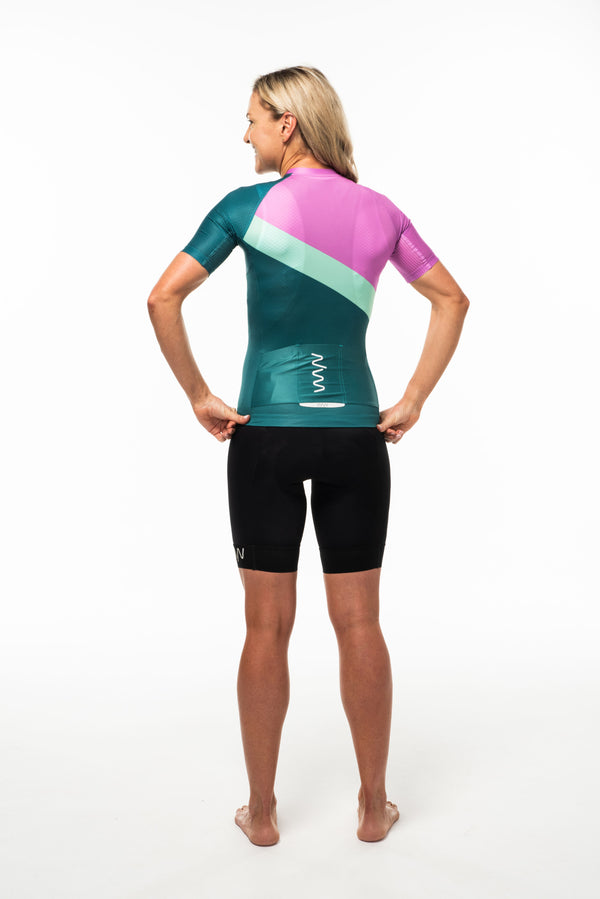 women's soglia premium cycling jersey 2.5 - amalfi *FINAL SALE*