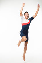 Load image into Gallery viewer, women's soglia aero+sleeved tri suit 2.5 - americano