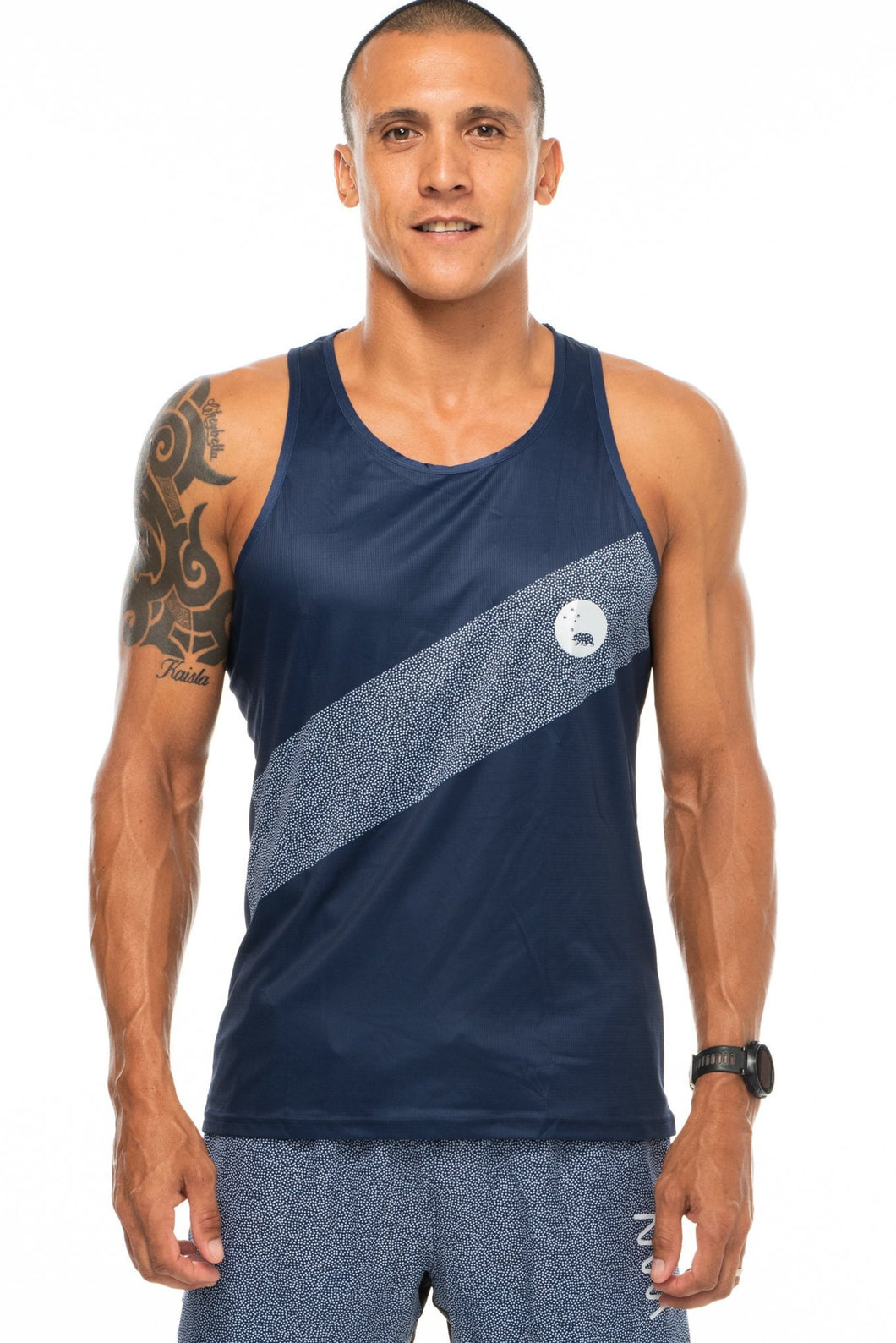 DASH singlet - midnight