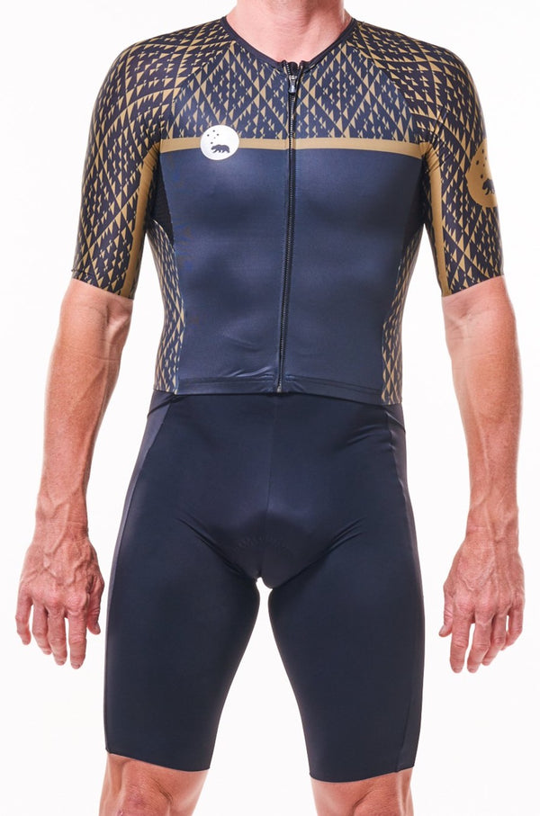 men's paradigm velocity+ triathlon suit - apex
