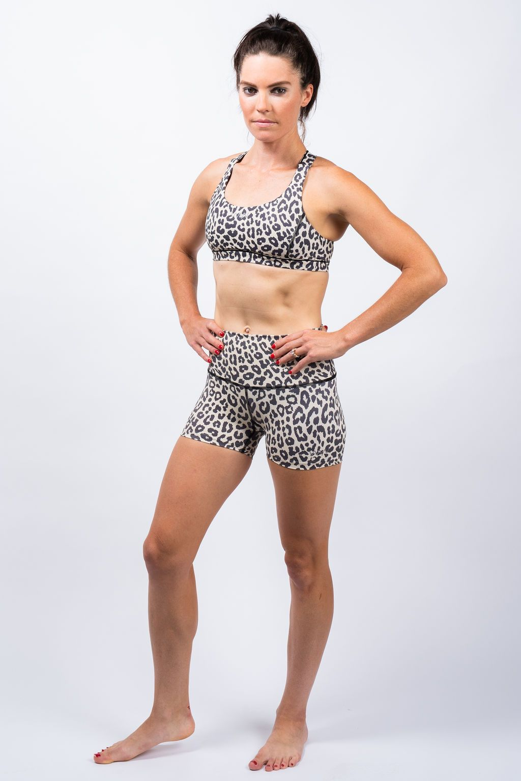 PR shorts- leopardess