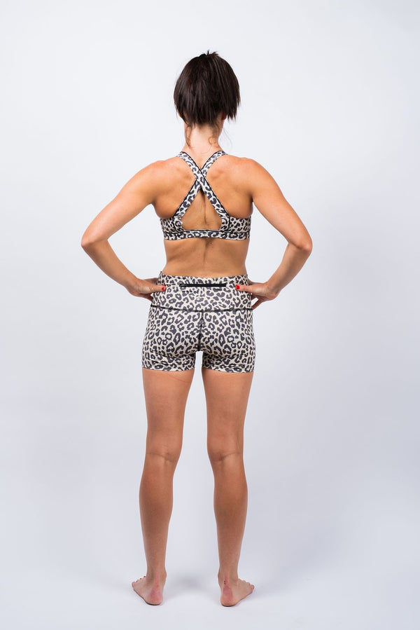 PR shorts- leopardess *FINAL SALE*