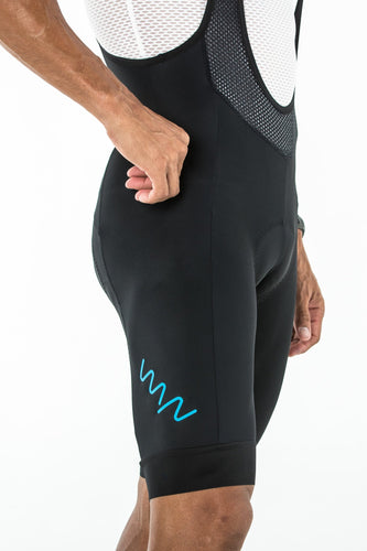 men's carrefour premium bib shorts - del mar