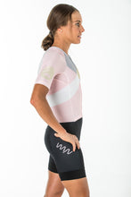 Load image into Gallery viewer, women's carrefour aero+ sleeved triathlon suit 2.5 - leucadia *SALE*