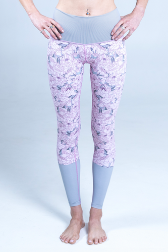 All. The. Things. legging - peonies *FINAL SALE*