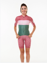 Load image into Gallery viewer, keep the peace luxe cycling bib shorts - joni