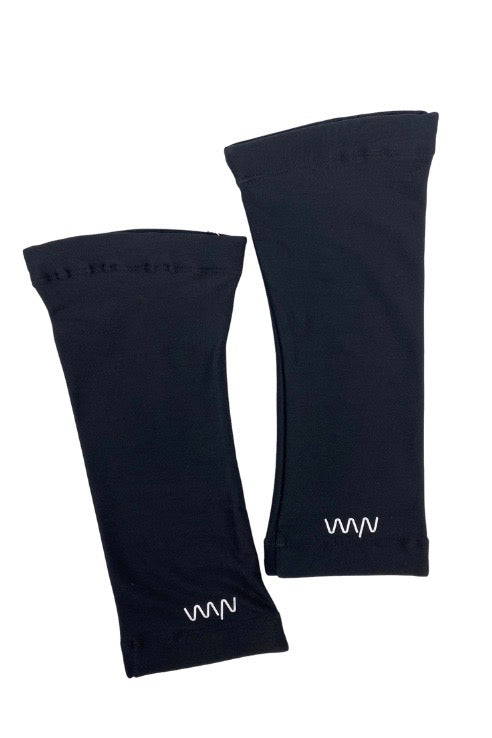 women's knee warmer - black