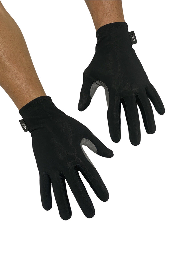 essentials thermal gloves- black