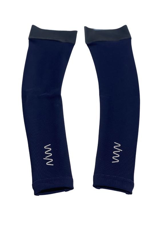 women's arm warmer - deep navy