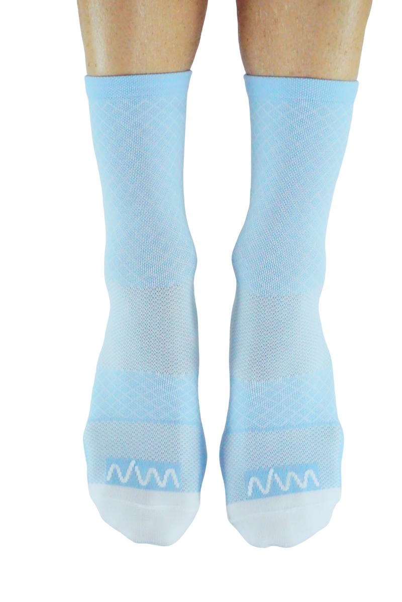 flagship sock - sky blue