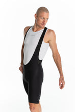 Load image into Gallery viewer, men's LUCEO bib shorts - black