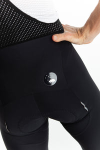 men's LUCEO bib shorts - black