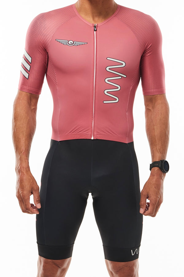 keep the peace aero+ triathlon suit 3.0 - code red