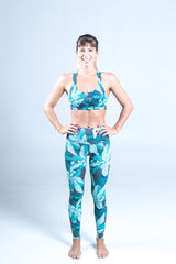 All. The. Things. leggings - teal tropics