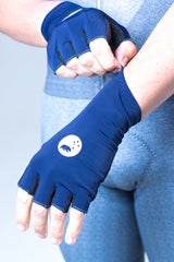 Navy TT gloves - unisex
