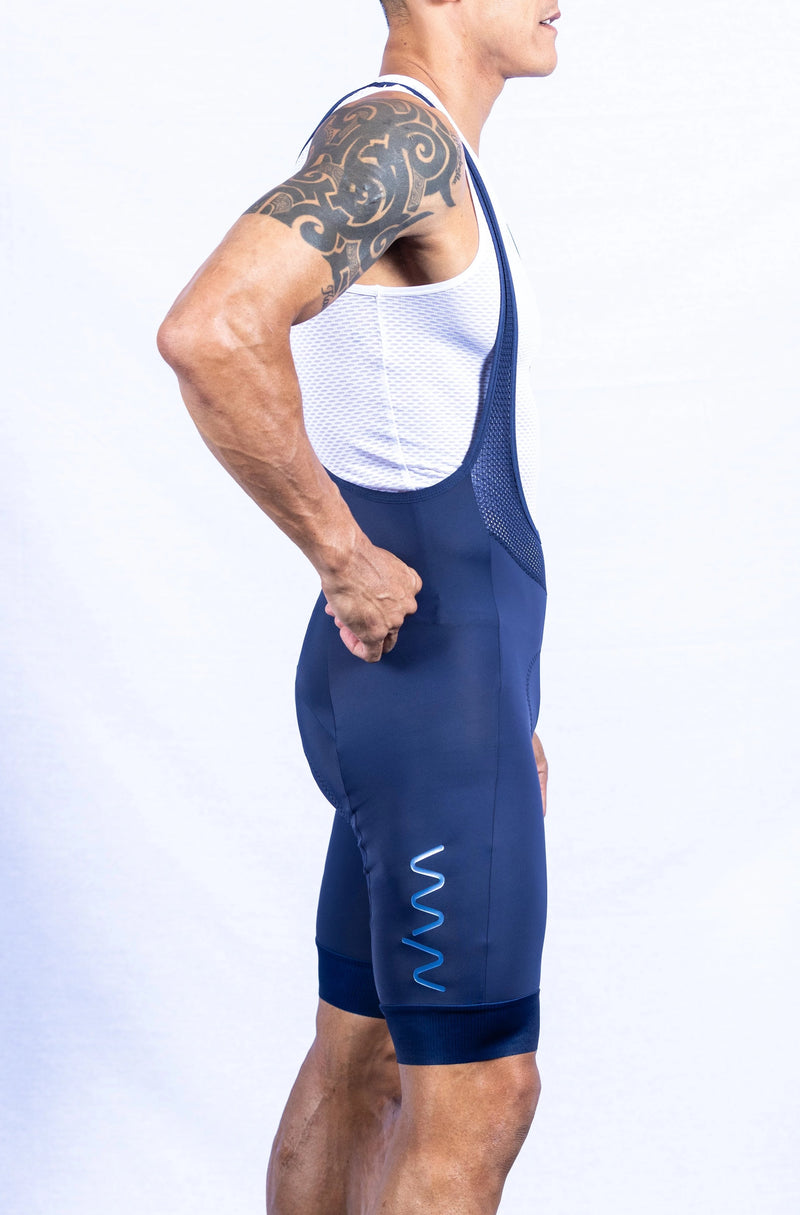 men's PRO bib shorts 2.0 - navy *FINAL SALE