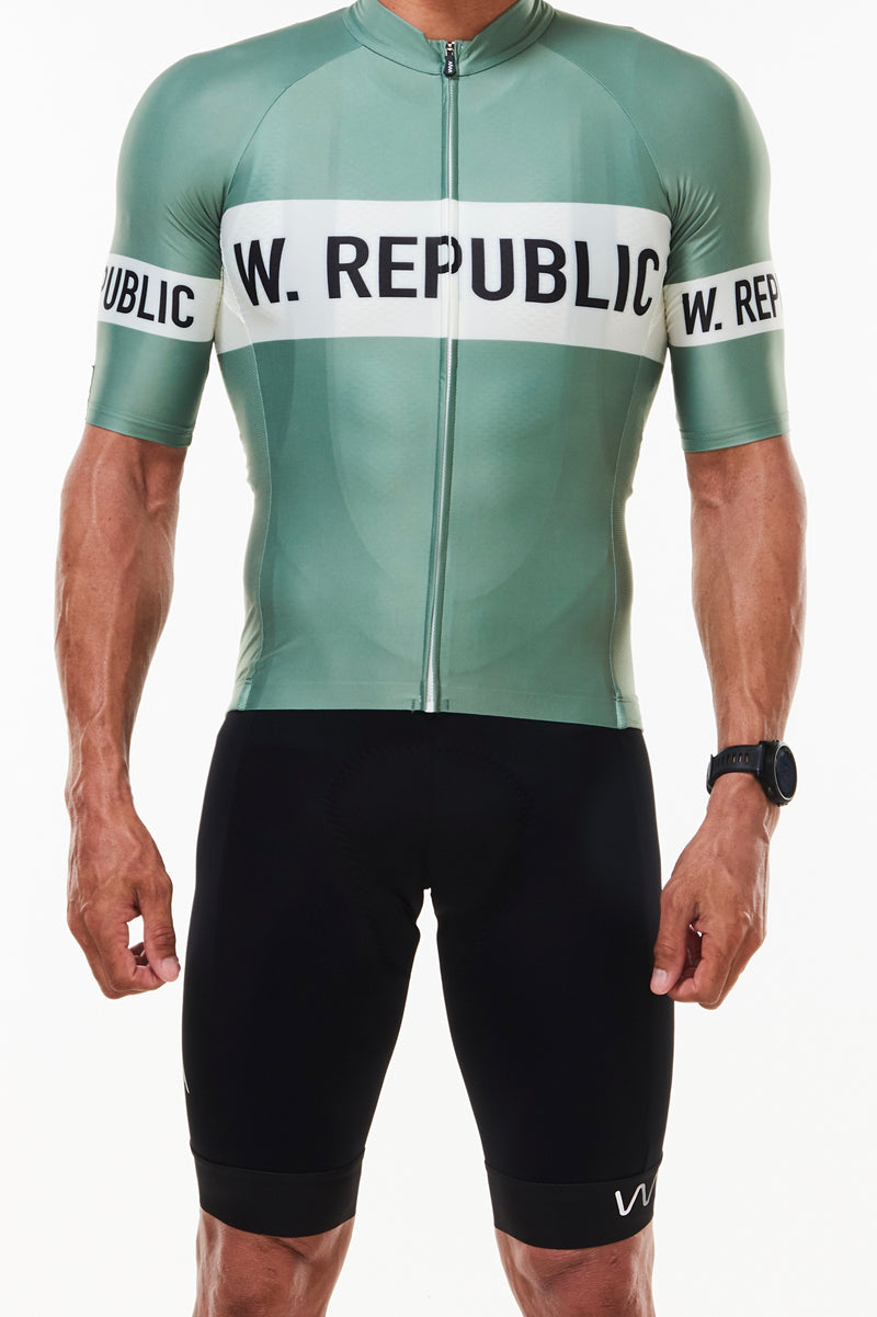 keep the peace premium cycling jersey - freedom fighter