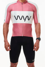 Load image into Gallery viewer, keep the peace premium cycling jersey - code red