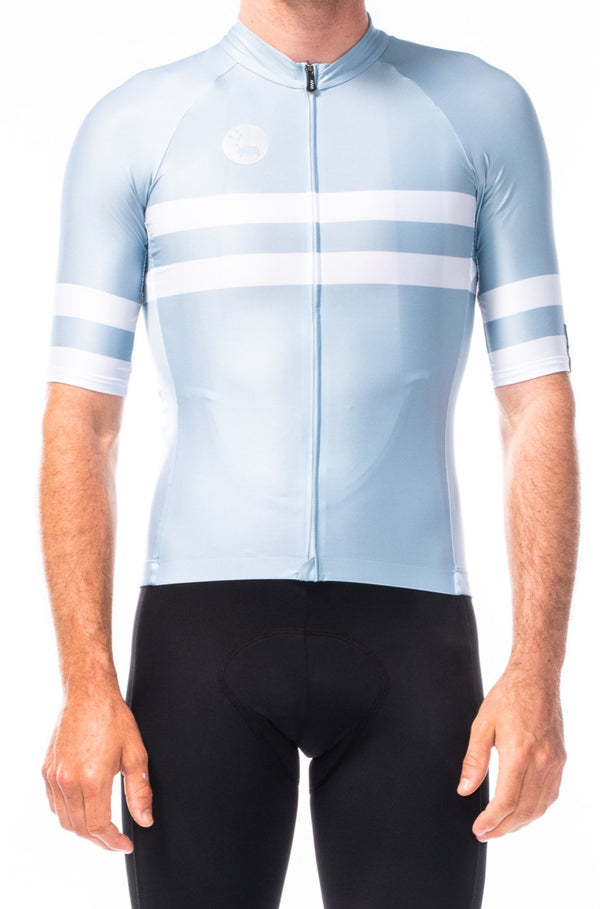 men's mojave premium cycling jersey - mist