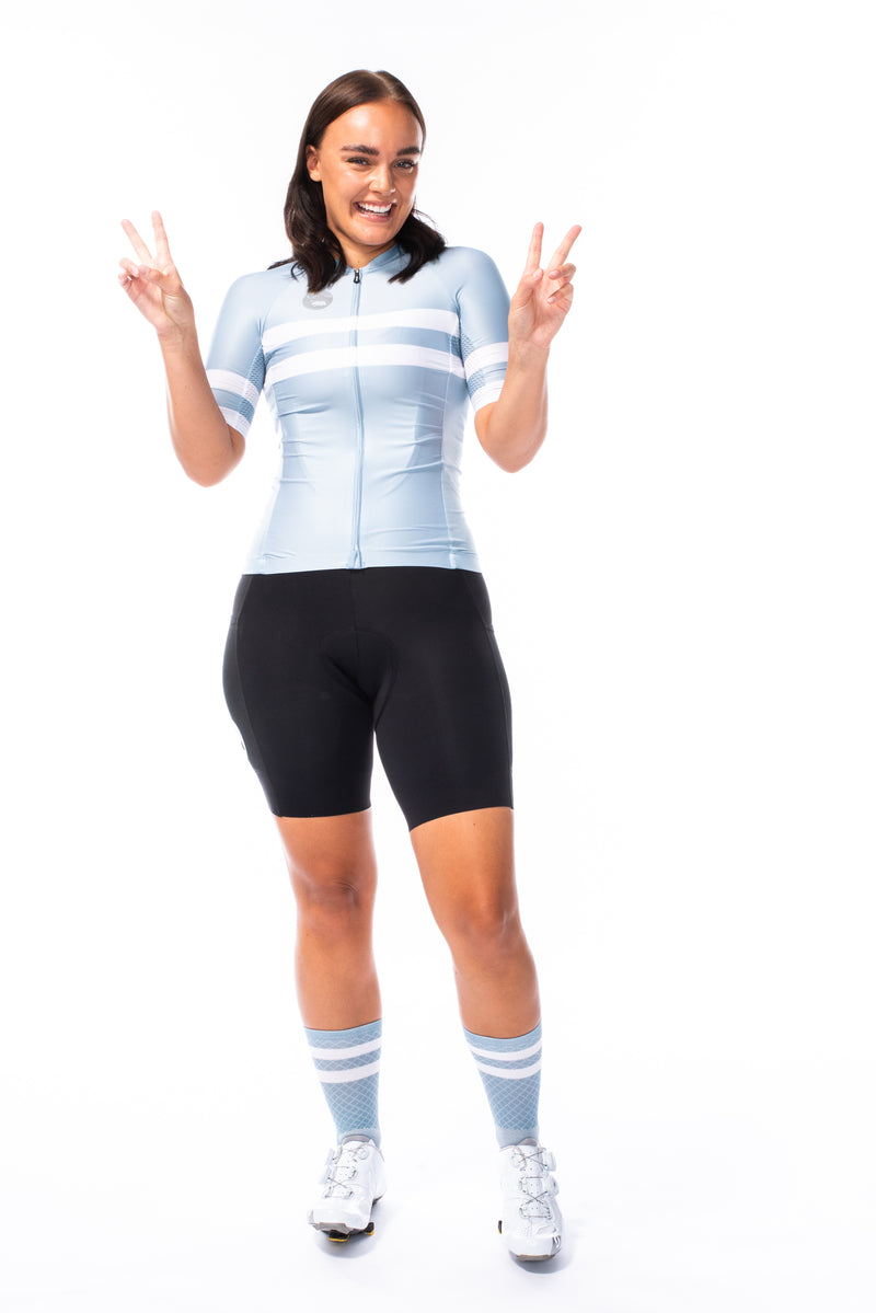 women's mojave premium cycling jersey - mist