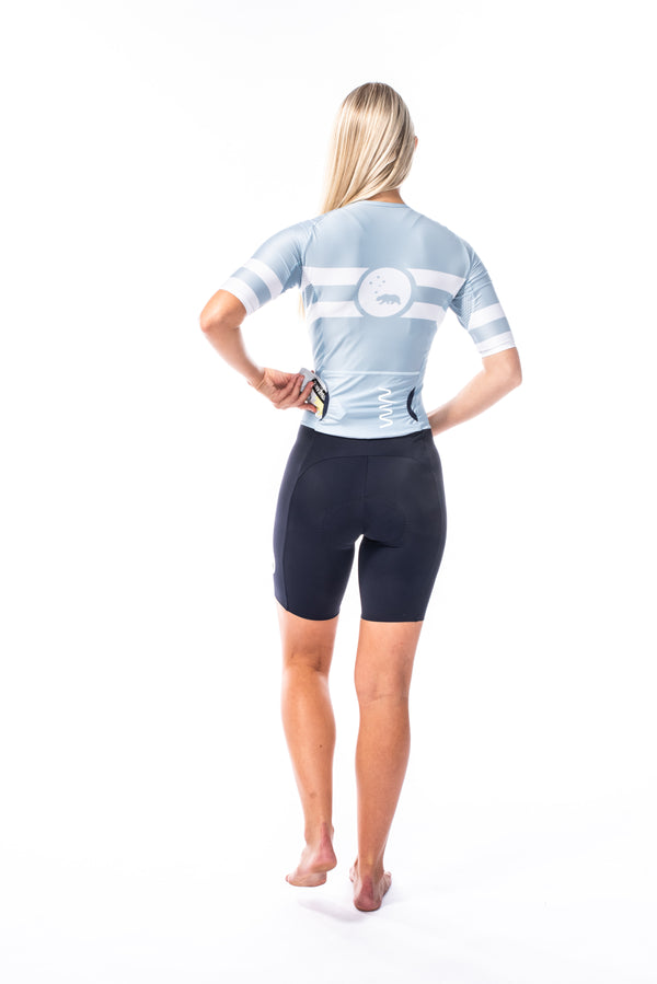 women's mojave velocity+ triathlon suit - mist