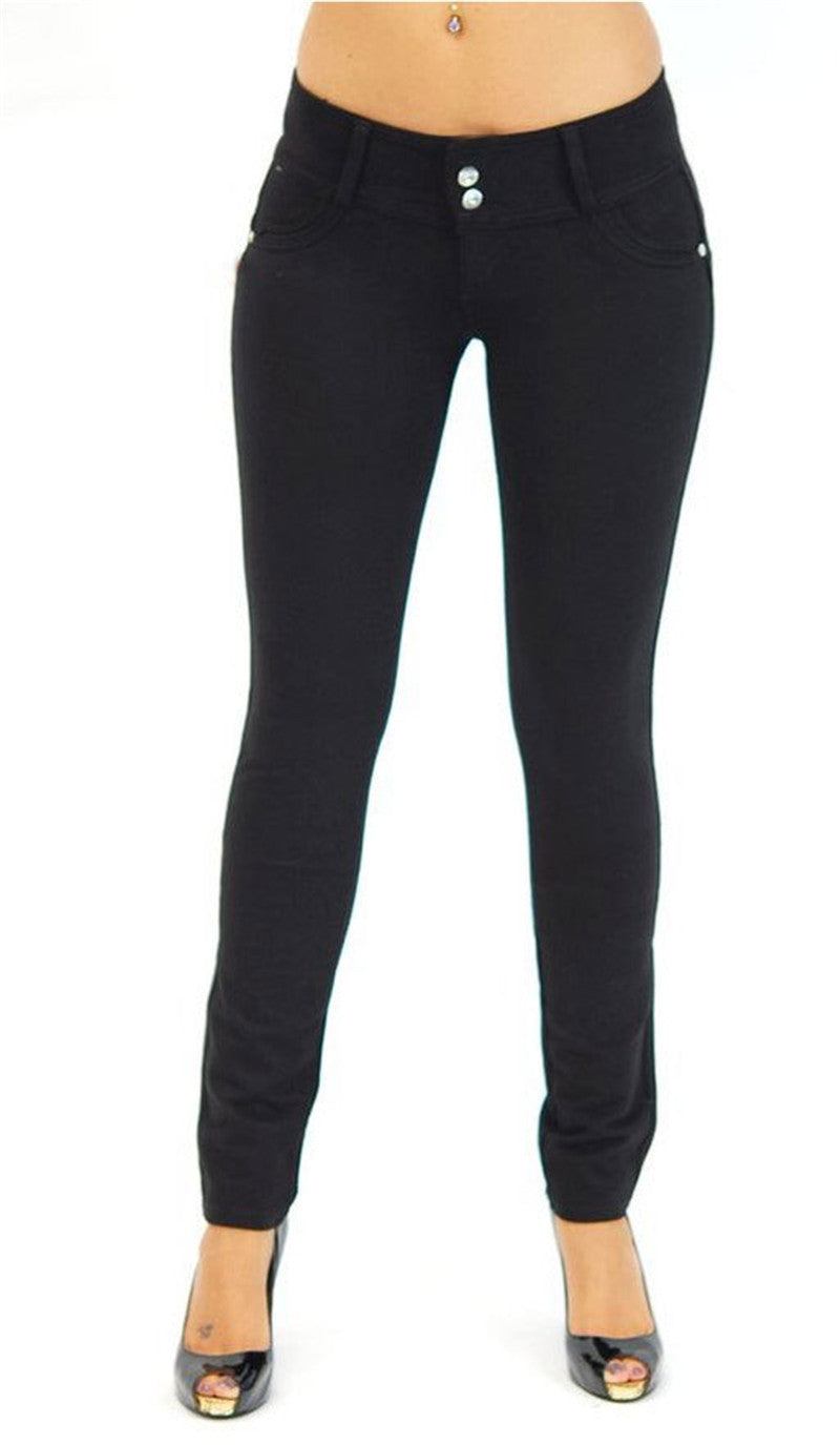 Autumn Women Low Waist Yoga Pants Plus Size Push Up Elastic Leggings Sexy Bodybuilding Clothing Trousers Leggings