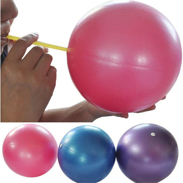 New 25cm Exercise Fitness GYM Smooth Yoga Ball  SEP06