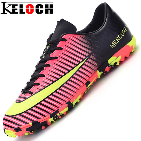 Keloch New arrive Sneakers Men Soccer Shoes Male Trainers Cleats Football Boots botas de futbol Chuteira Futebol Sports Shoes