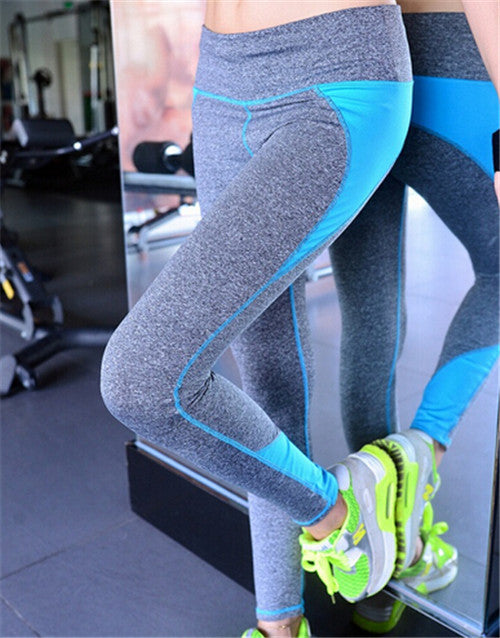 B.BANG Women Yoga Pants Sport Fitness Running Sportswear Tights Quick Drying Compression Trousers Gym Slim Legging